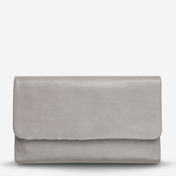Status Anxiety - Audrey Wallet: Light Grey