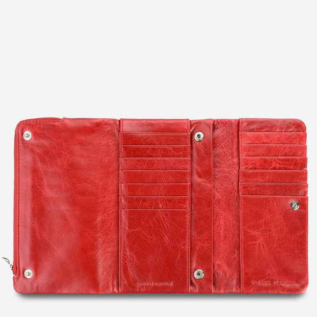 Status Anxiety - Audrey Wallet: Red