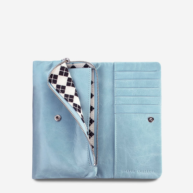 Status Anxiety - Audrey Wallet: Sky