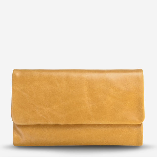 Status Anxiety - Audrey Wallet: Tan