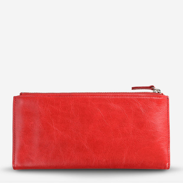 Status Anxiety - Dakota Wallet: Red