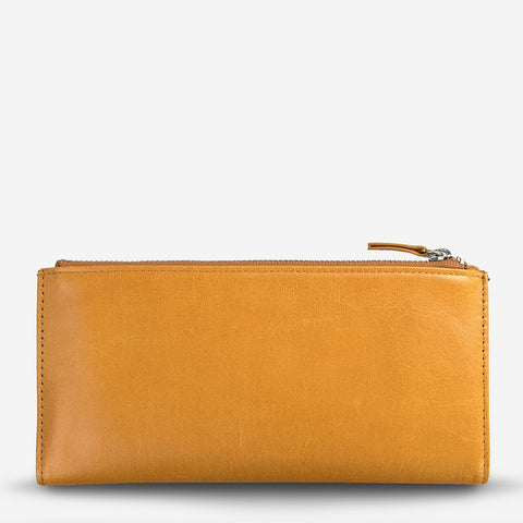 Status Anxiety - Dakota Wallet: Tan