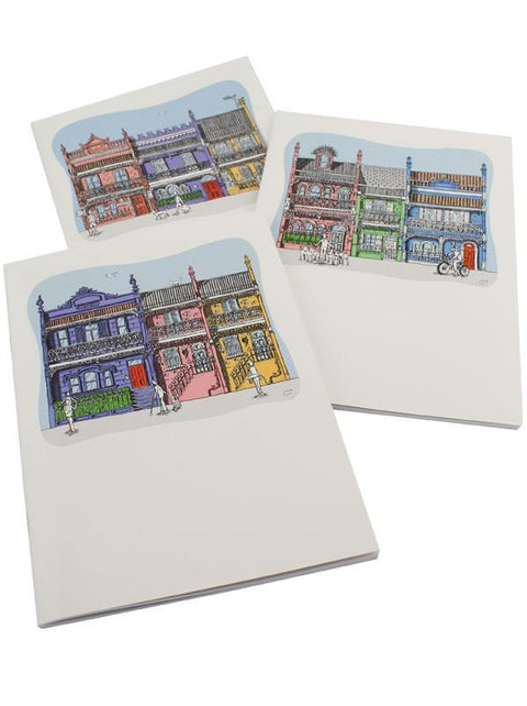 Squidinki - Inner City A5 Notebooks (Set of 3)