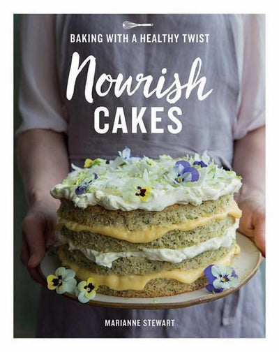 Nourish Cakes - Baking With A Healthy Twist-Cookbooks-Other-OPUS Design