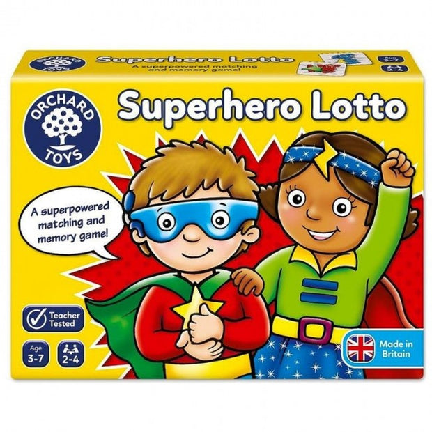 Orchard Game - Superhero Lotto