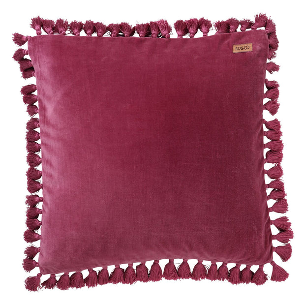 Kip & Co Pearl Collection - Velvet Tassel Cushion