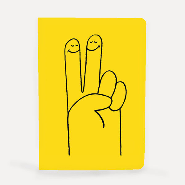 Peace - Hand Notebook-Notebooks-U Studio-OPUS Design