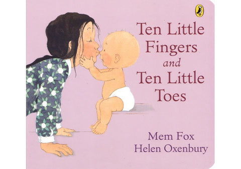 Ten Little Fingers Board Book
