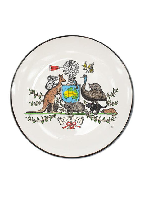 Squidinki - Australian Icons Single Canape Plate
