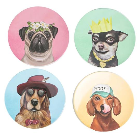 La La Land - Plate Set Canine Cuties
