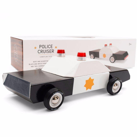Police Cruiser Toy Car-Toys-Candylab-OPUS Design