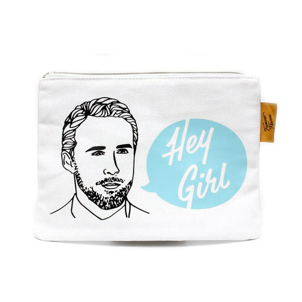 Famous Flames - Hey Girl Accessories Pouch