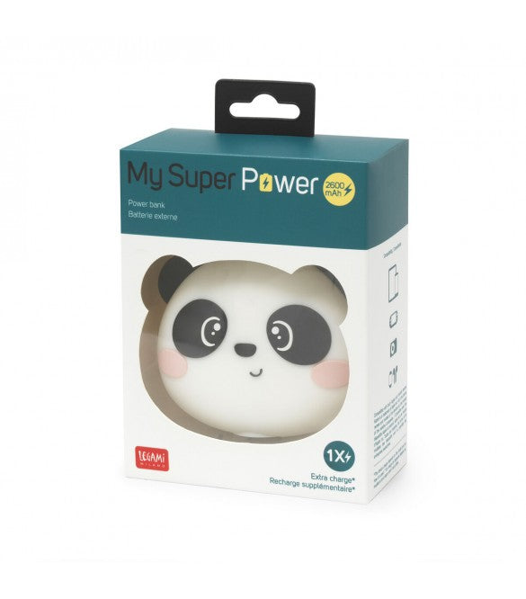 Legami - Power Bank - Panda