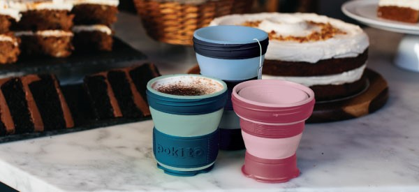 Pokito Pink Pop Up Cup