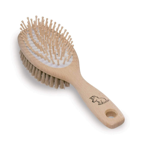 Redecker - Dog Brush with Wooden Pins
