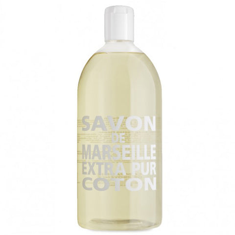 Savon de Marseille - Liquid Soap Refill 1L - Cotton Flower