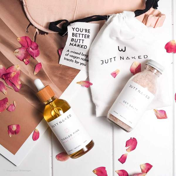 Butt Naked - Rosey Cheeks Gift Set