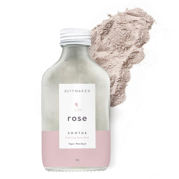 Butt Naked - Rose Clay Face Mask