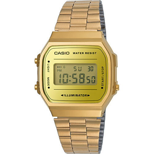 Casio Vintage Watch - A168WEGM-9D