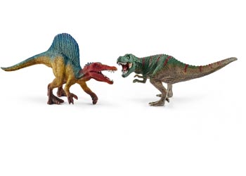 Spinosaurus And T-Rex Sm