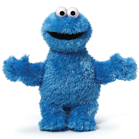 Sesame Street Cookie Monster Soft Toy-Soft Toy-Sesame Street-OPUS Design