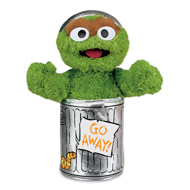 Sesame Street Oscar The Grouch Soft Toy-Soft Toy-Sesame Street-OPUS Design