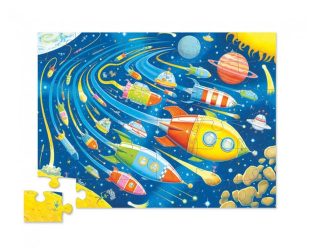 Crocodile Creek - 36pc Puzzle: Space Race