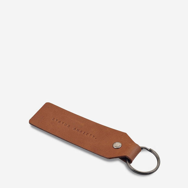 Status Anxiety - If I Stay Keyring: Camel