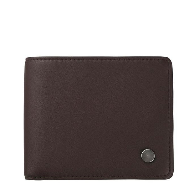 Status Anxiety - Leonard Wallet-Wallets & Purses-Status Anxiety-Chocolate-OPUS Design