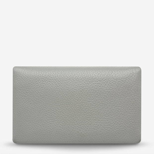 Status Anxiety - Audrey Wallet: Light Grey Pebble