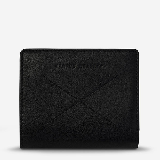 Status Anxiety - Clifford Wallet: Black