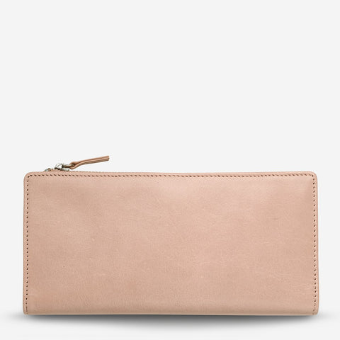 Status Anxiety - Dakota Wallet: Dusty Pink