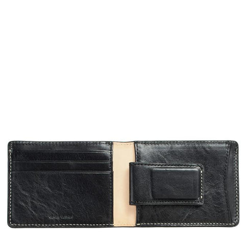 Status Anxiety - Ethan Wallet: Black