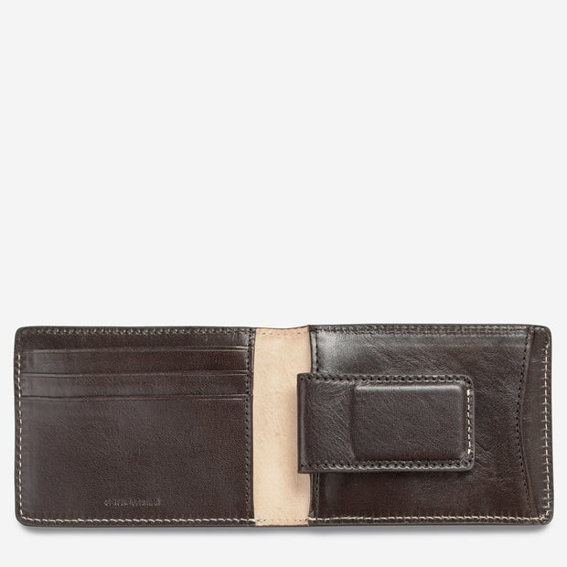 Status Anxiety - Ethan Wallet: Chocolate