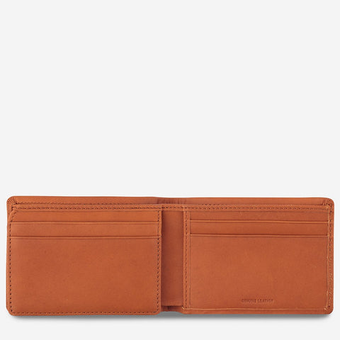 Status Anxiety - Jonah Wallet: Camel