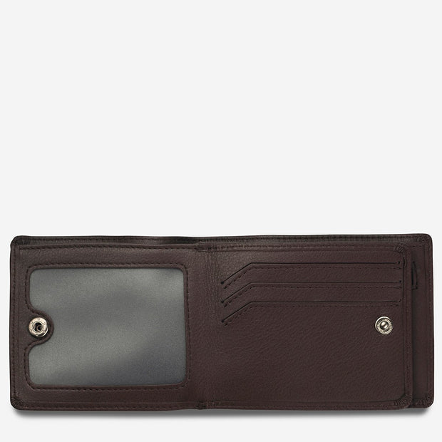 Status Anxiety - Leonard Wallet: Chocolate