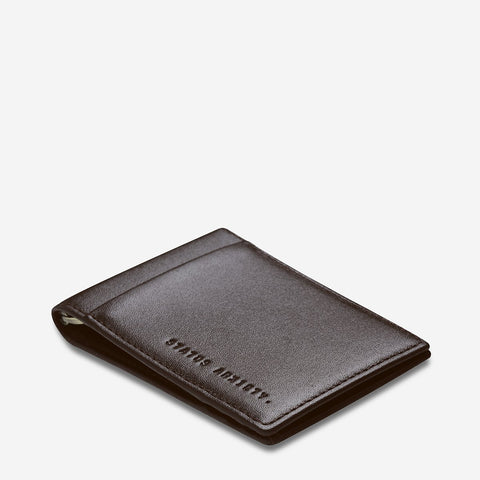 Status Anxiety - Melvin Wallet: Chocolate