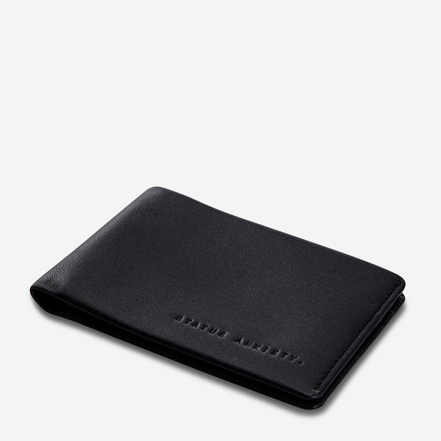 Status Anxiety - Quinton Wallet: Black