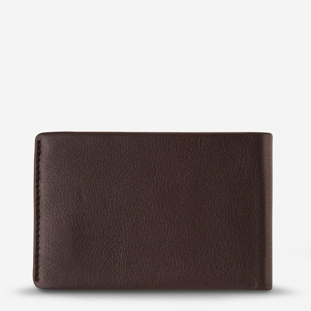 Status Anxiety - Quinton Wallet: Chocolate