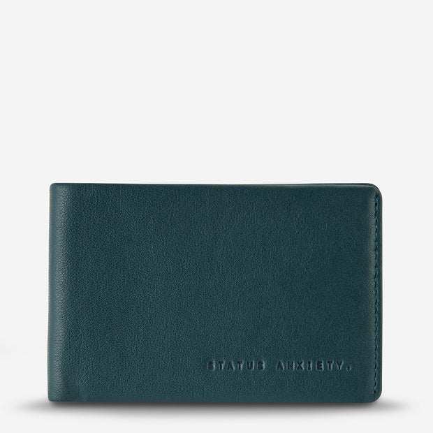 Status Anxiety - Quinton Wallet: Teal
