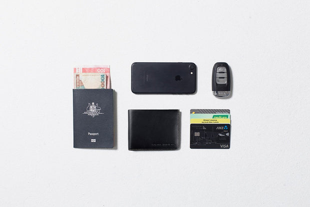 Status Anxiety - Alfred Wallet: Black
