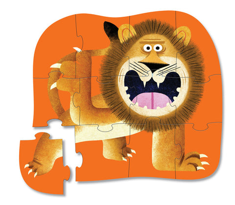 Crocodile Creek - 12pc Mini Puzzle: Lion Roar