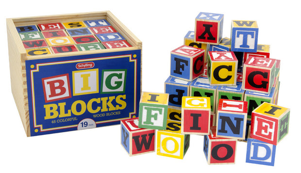 Schylling - Alphabet Blocks