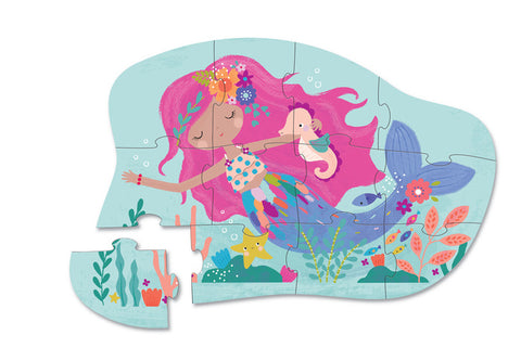Crocodile Creek - 12 pc Mini Puzzle Mermaid Dreams