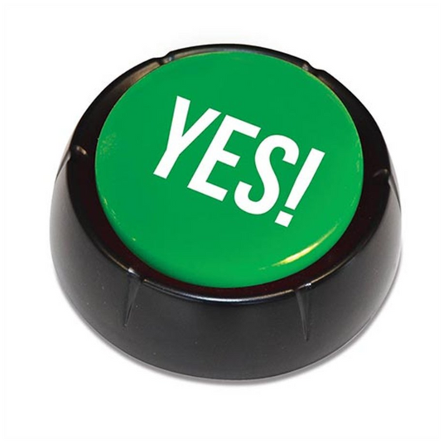 The Yes Button-Novelty Toy-Other-OPUS Design