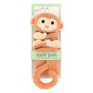 Apple Park Monkey Blankie