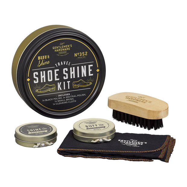 Gent's Hardware - Travel Shoe Shine Tin