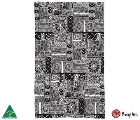 ALPeRSTeIN DeSIGNS Fiona Puruntatameri Tea Towel