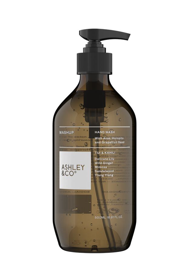 Ashley & Co - Washup Botanical Hand Wash: Tui & Kahili
