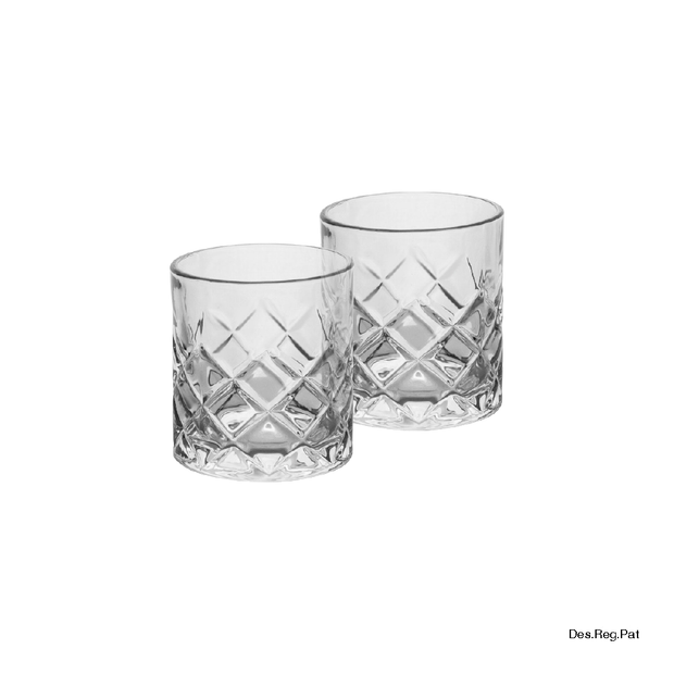 Uber Urai Rocks Glass Set (Set of 2)